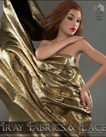 SV's Iray Fabrics and Lace Shaders