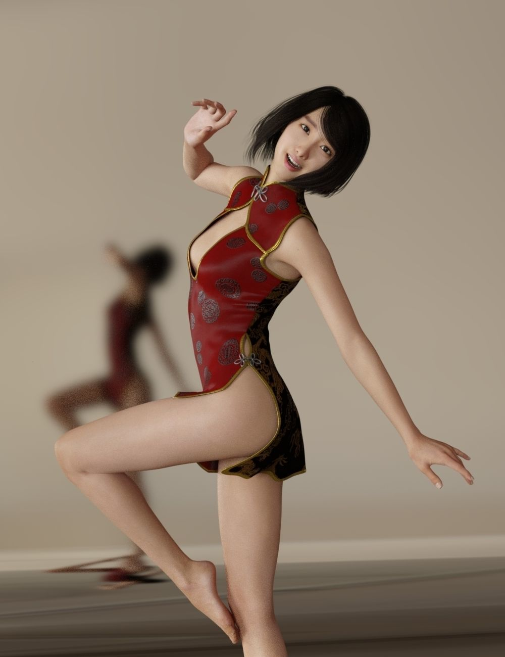 Chen Ting For G3F And G8F 3D model