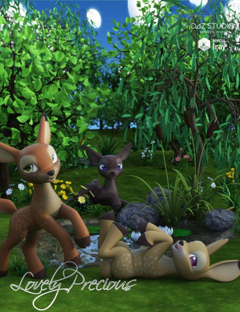 Lovely Precious Vol 01 – Deer