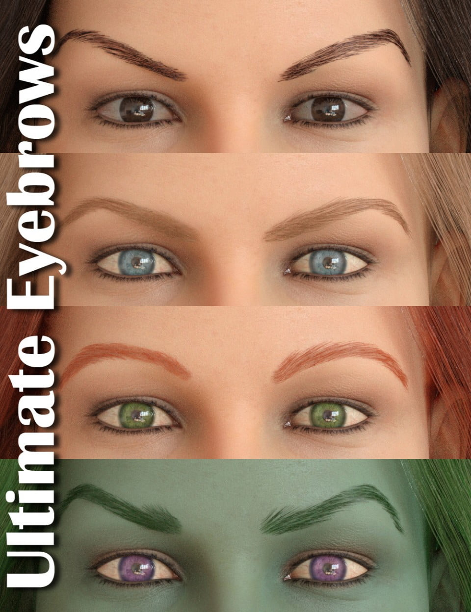 Ultimate Eyebrows for Genesis 8 Female