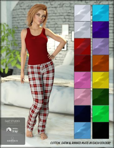Ready for Bed Pajama Set for Genesis 8 Female(s)