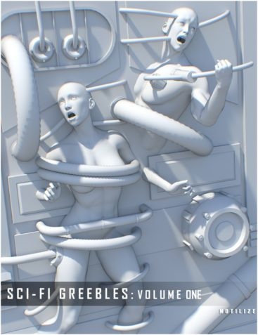 Sci Fi Greebles: Parts and Panels Vol. 1