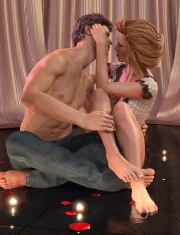 Z In Love - Couple Poses for Genesis 3 and 8