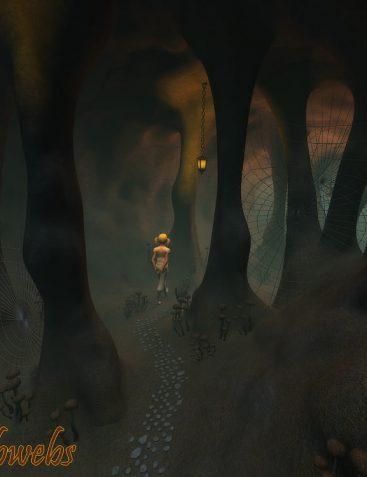 Cave cobwebs