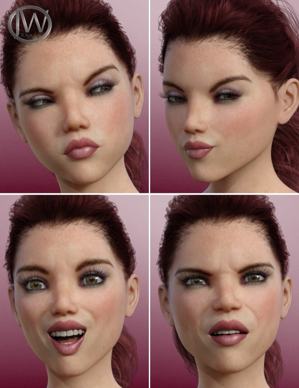 A Popular Girl – Morph Dial Expressions for Teen Josie 8