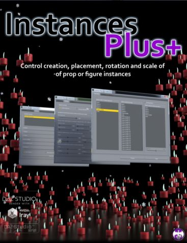 Instances Plus+ for Daz Studio