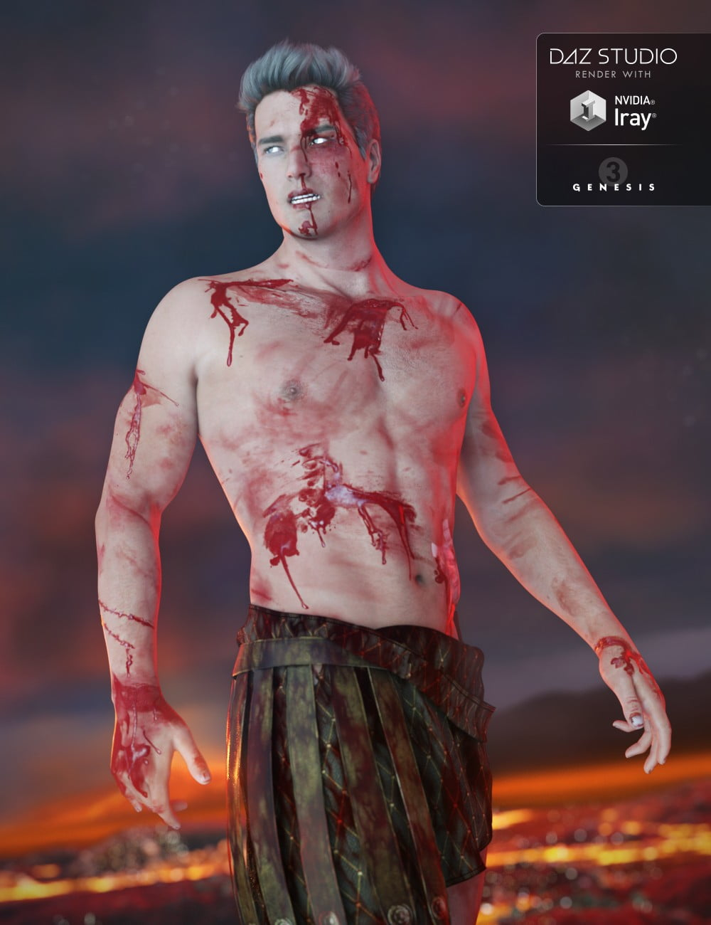 Additional Blood Layers for Genesis 3 Male(s)