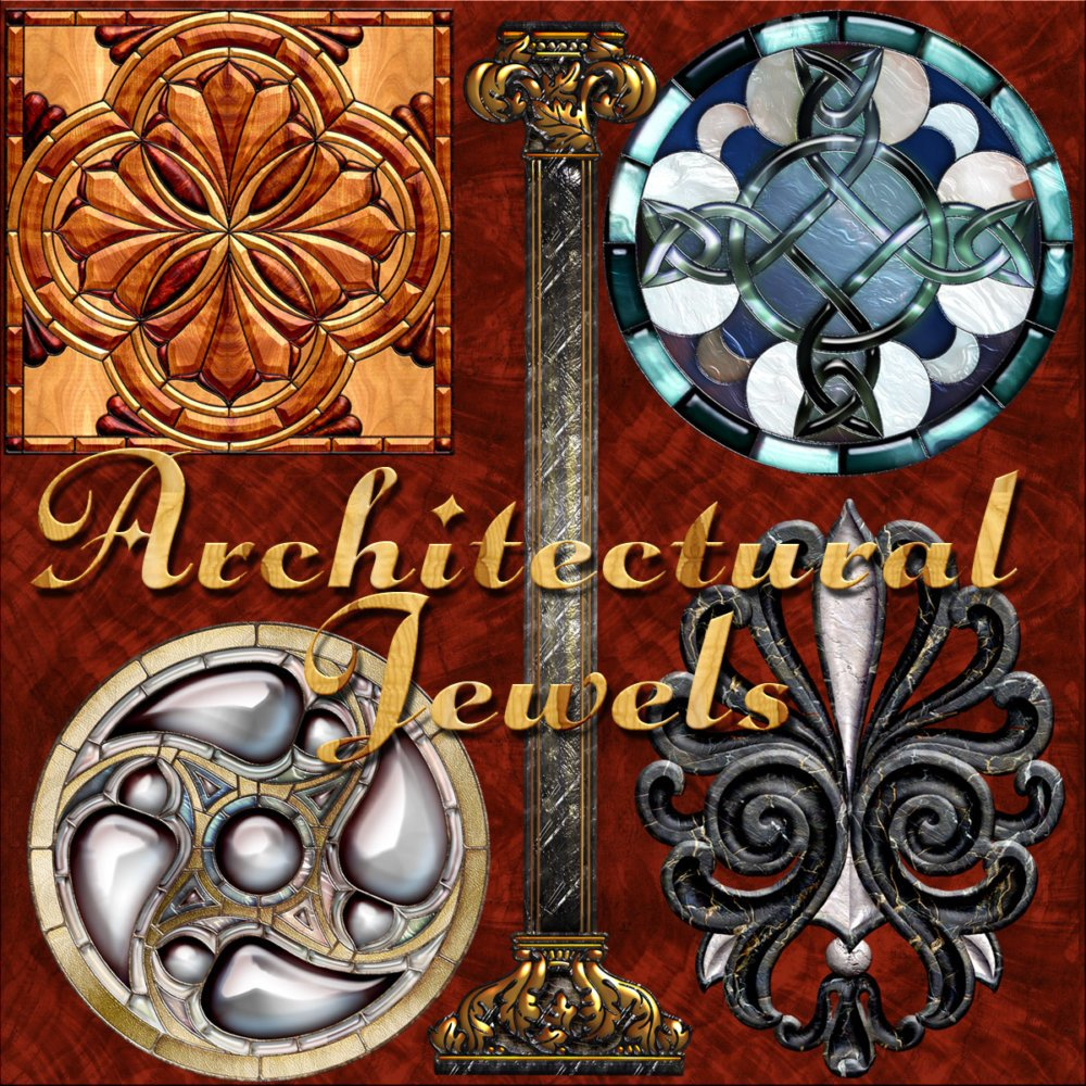 Harvest Moons Architectural Jewels
