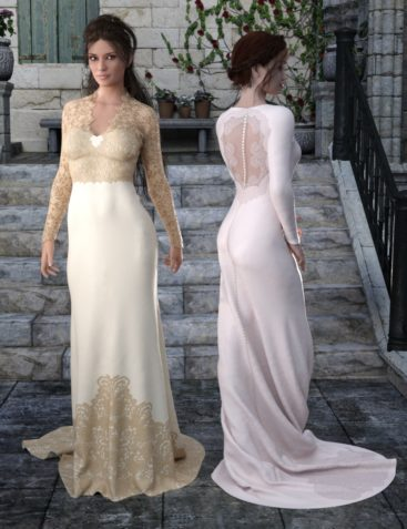 Bridal Styles for Trumpet Dress
