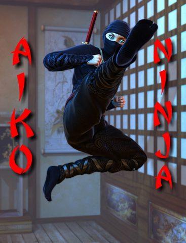 Aiko Ninja Poses for Aiko 6