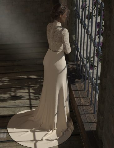 dForce Trumpet Dress for Genesis 3 and Genesis 8 Female(s)
