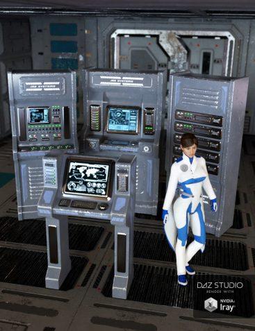 Sci-fi Control Panels