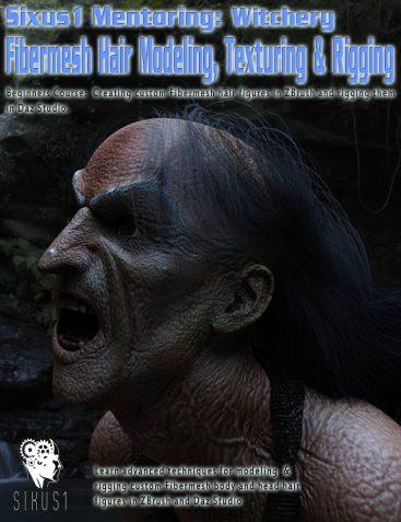 Sixus1 Mentoring - Witchery Pt2: Fibermesh Hair Creation