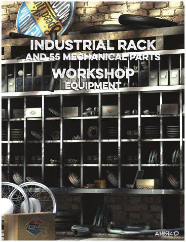 Workshop Industrial Rack and Equipment