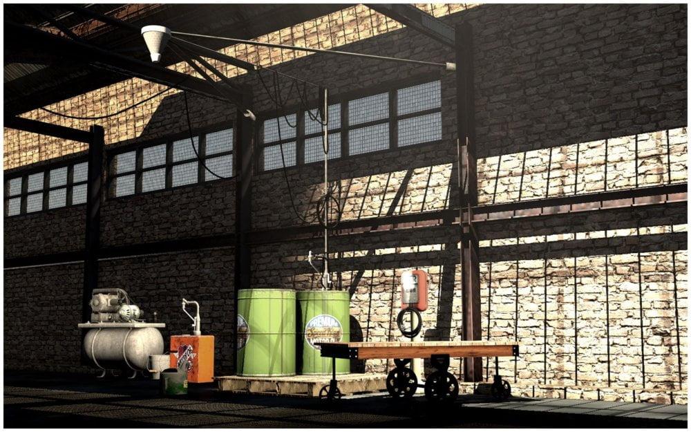 Workshop Industrial Rack and Equipment - scenes-props, daz-poser-carrara