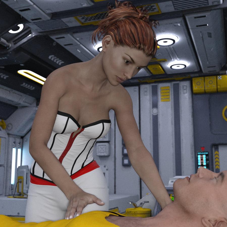 Crew Of Antares V7 MedBay