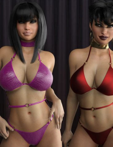 LUST - Sexy Little Something 2 for Genesis 3 Female(s)