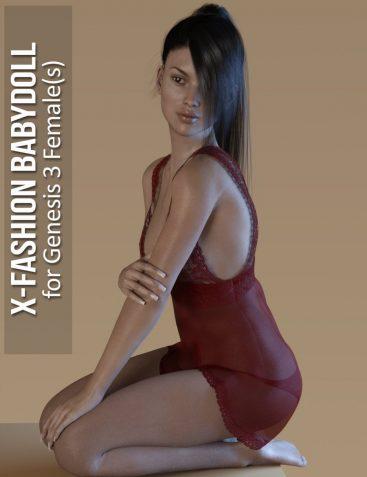 Fashion Babydoll for Genesis 3 Females
