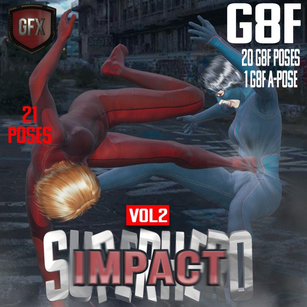 SuperHero Impact for G8F Volume 2