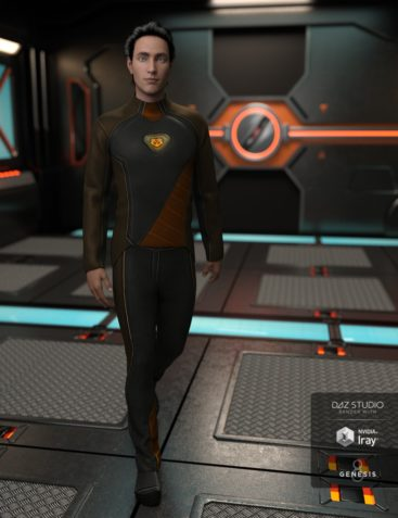 Space Explorer Uniform for Genesis 8 Male(s)