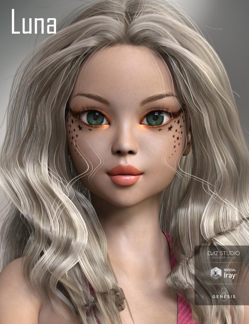 Luna for Genesis 8 Female