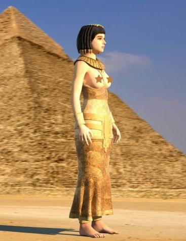 Mec4D Cleopatra Outfit