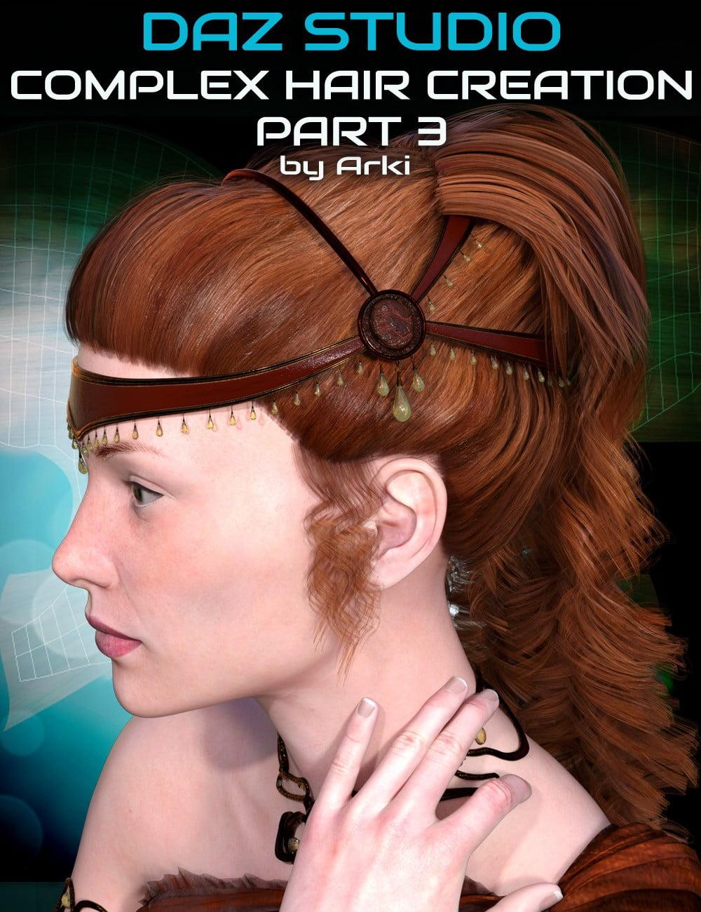 Complex Hair Creation Part 3: Texturing