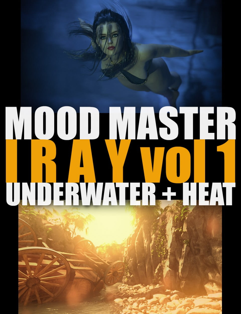 Mood Master Iray – Vol1 – Underwater and Heat