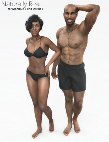 Naturally Real Material Options for Monique 8 and Darius 8