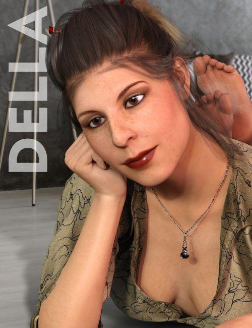 Della for Genesis 3 Female - character, daz-poser-carrara