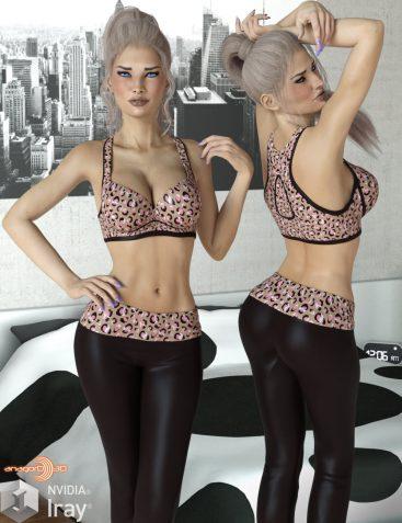 VERSUS - Fads Sports Bra & Yoga Pants for Genesis 3 Female