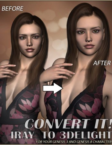 Convert It! - Iray to 3DL Characters
