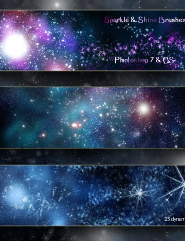 Sparkle & Shine - Dynamic Brushes PS7/CS