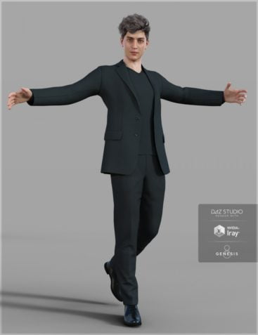 H&C dForce Weekend Casual Suit for Genesis 8 Male