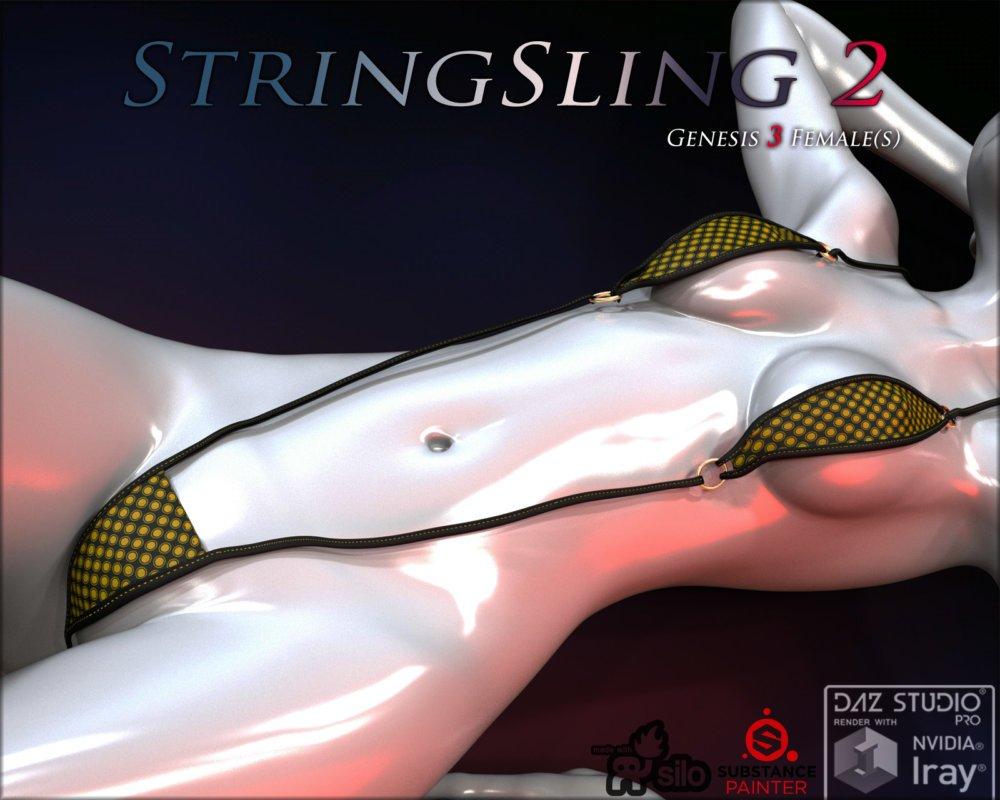 StringSling2 for Genesis 3 Females