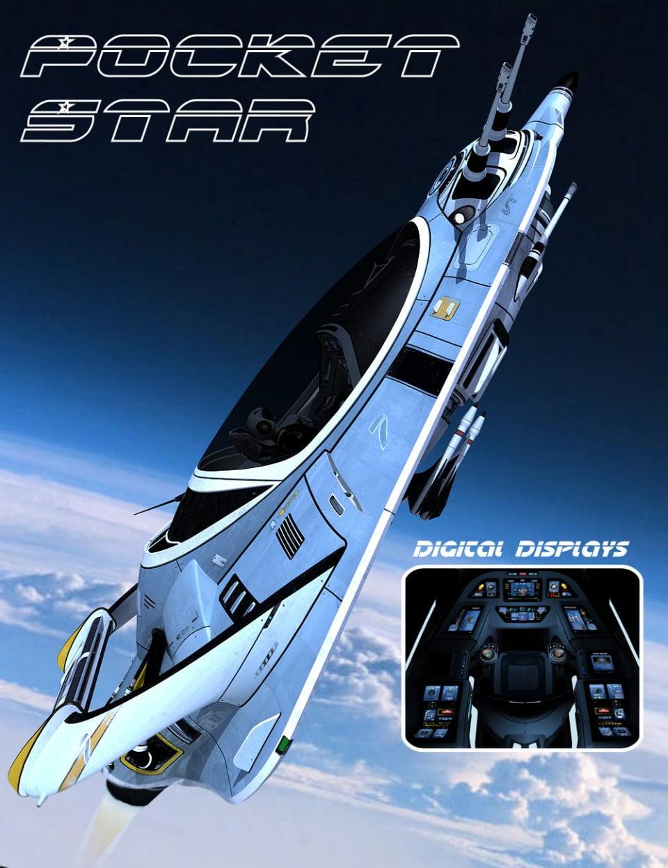 Pocket Star - transport, daz-poser-carrara