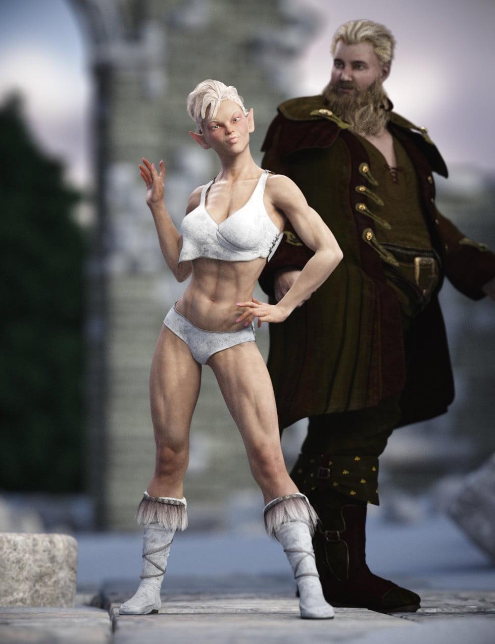 Wynnter Elf for Genesis 8 Female(s) - character, daz-poser-carrara