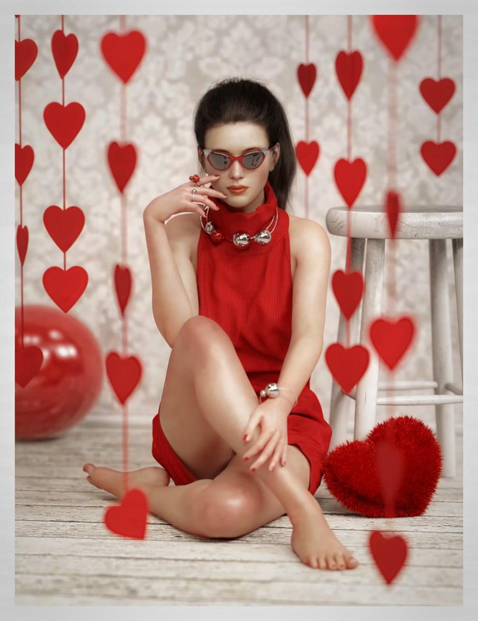 ES Valentine's Photo Shoot Props