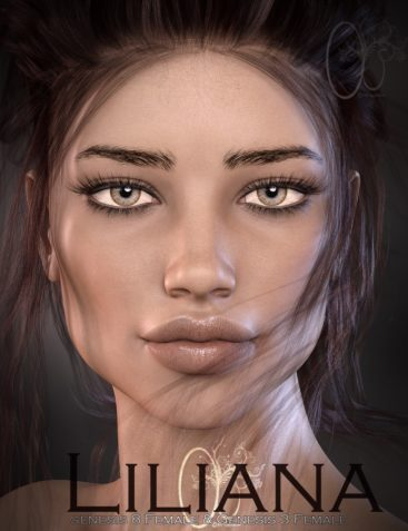 CB Liliana for Genesis 3 and 8 Female