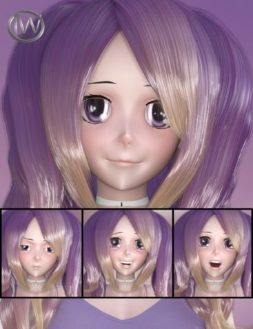 Doll Faces – Expressions for Sakura 8