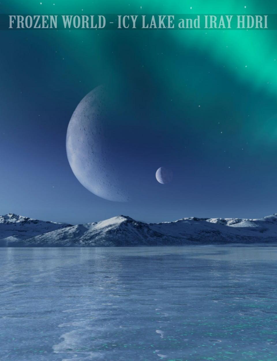 Frozen World – Icy Lake and Iray HDRI