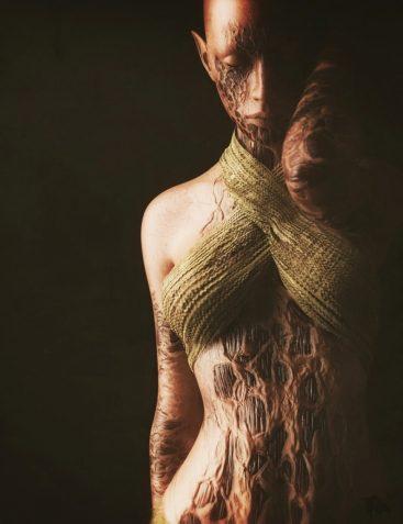 Horrifying Skins Volume 2 for Genesis 3 and 8 Female