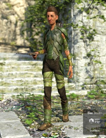 Forest Guardian Outfit for Genesis 8 Male(s)