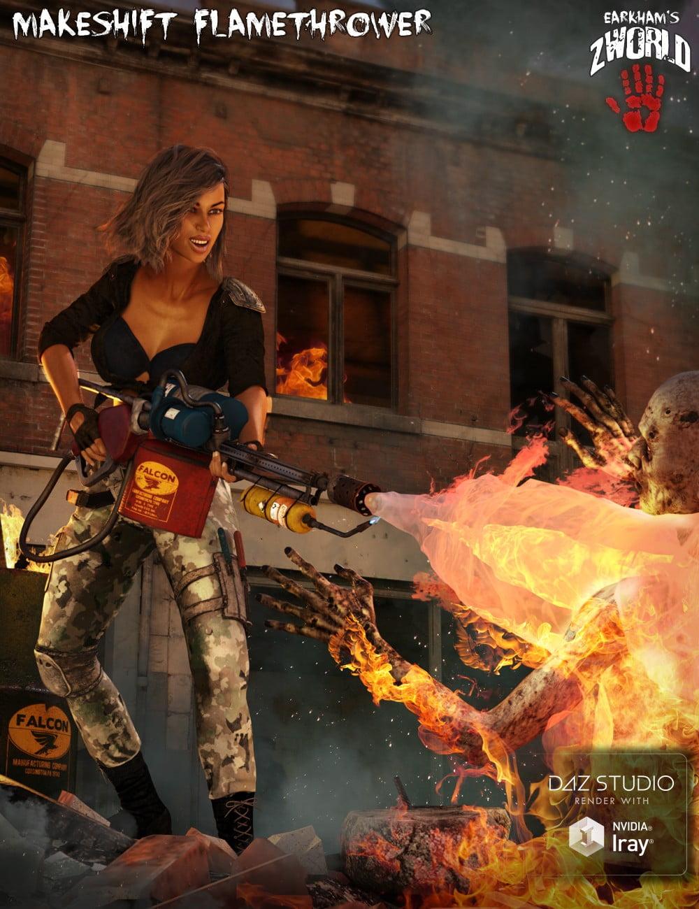 EArkham's ZWorld Makeshift Flamethrower