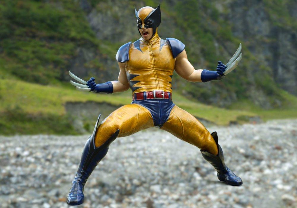 Wolverine For G3M - clothing, daz-poser-carrara