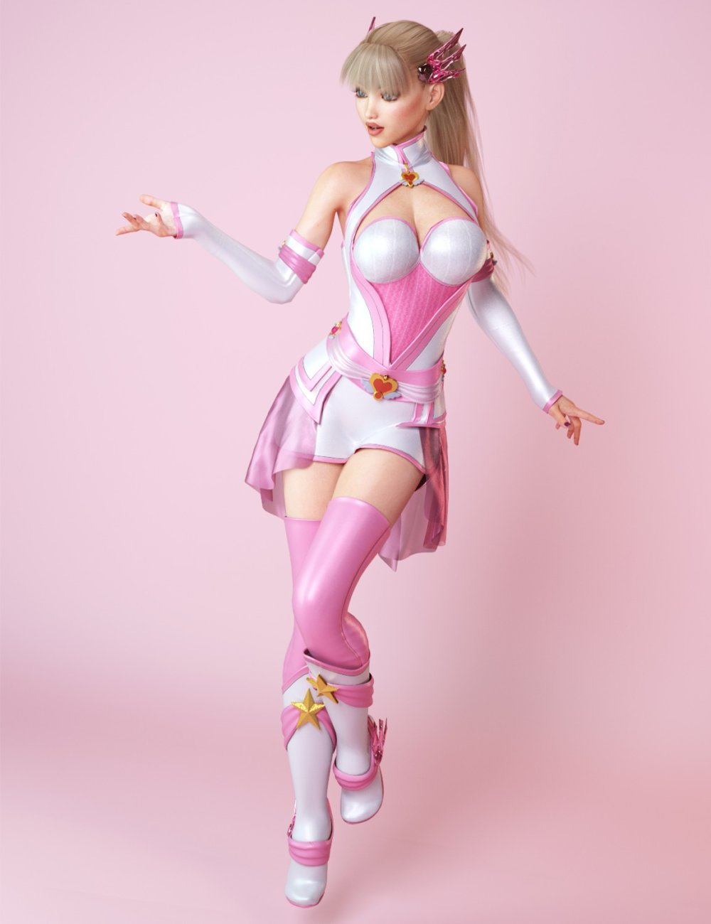 dForce Star Angel Outfit for Genesis 8 Female(s)