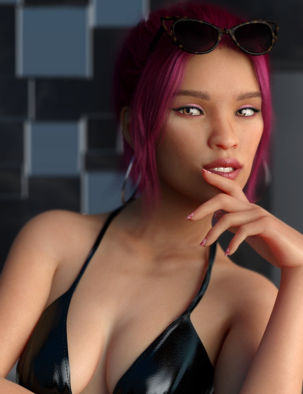 LY Pinkie HD for Genesis 8 Female