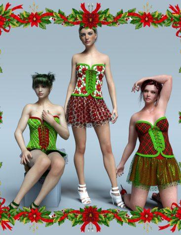 Festive Dress for G3F
