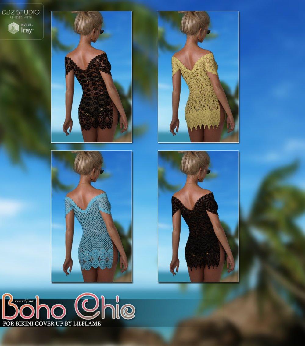 Boho Chic Bikini Cover Up