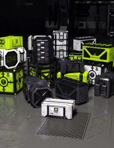 SciFi Crates and Containers Vol 1